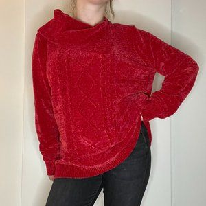NWOT NR Chenille Sweater